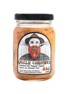 Uncle Chester's Two Flames Hot Pepper Sauce